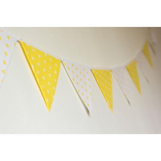 Sárga csillagos zászló girland, Little Stars