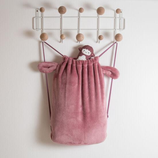 Mályva fülecskés gyerek hátizsák, (babyberry)