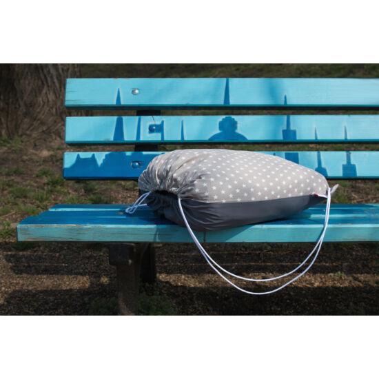 Szürke csillagos útravaló hátizsák