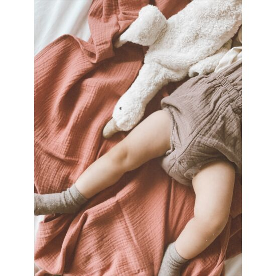 babyberry gránátalma muszlin vékony takaró
