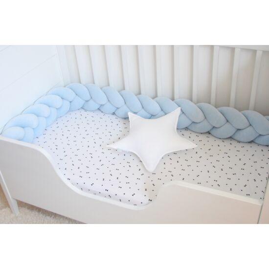 Fonott rácsvédő, pasztell kék (Siller baby)