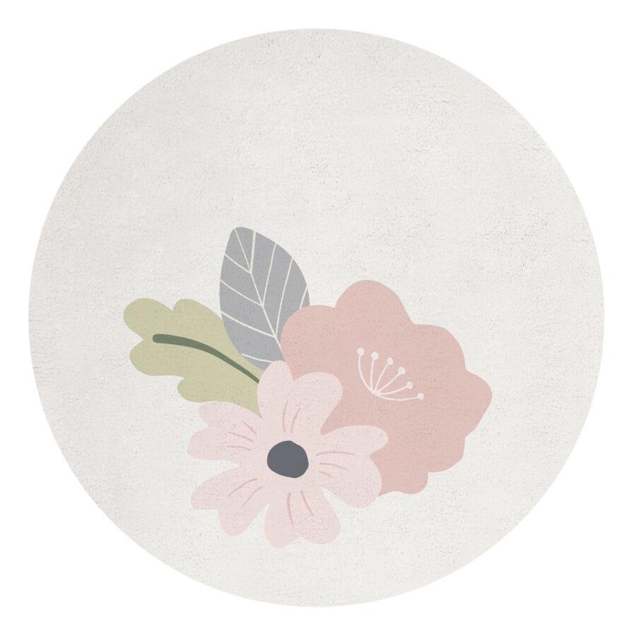 Kép 1 3 - Virágos szőnyeg - kör alakú 398a24605e