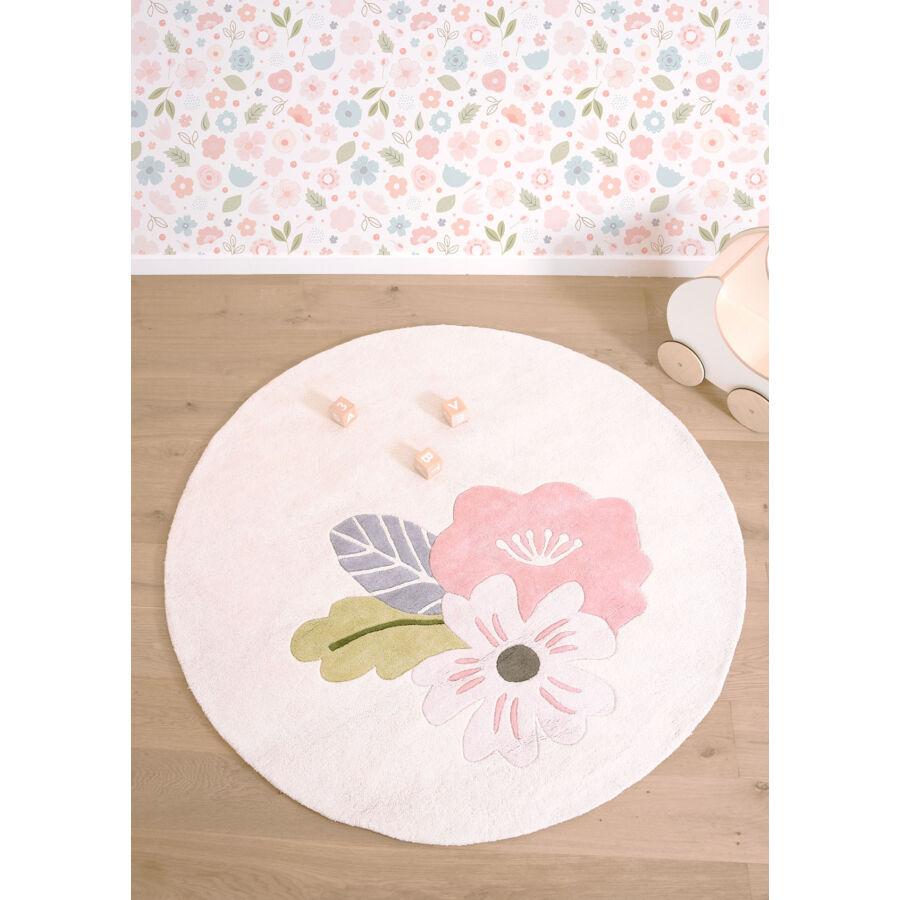 Virágos szőnyeg - kör alakú b0d93c1673